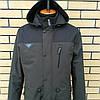 Модная мужская куртка парка осень весна, фото 7