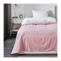 Покрывало IKEA FABRINA светло-розовый 901.963.14