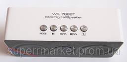 Портативная колонка WS-768BT Bluetooth new1, фото 3