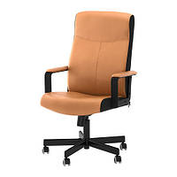 Рабочий стул IKEA MALKOLM  коричневый 501.968.01