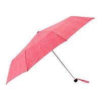 Зонт складной IKEA KNALLA красный/белый 903.304.97