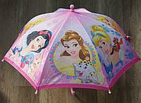 Зонтик детский для девочек Disney оптом. [Ростовка]