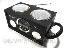 Акустика Atlanfa AT-8974 MP3 SD USB FM , black, фото 3