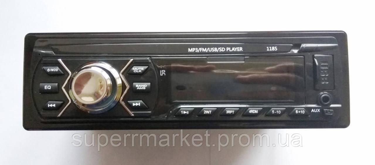 Автомагнитола Pioneer 1185 MP3 SD USB AUX FM со съемной панелью
