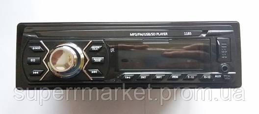 Автомагнитола Pioneer 1185 MP3 SD USB AUX FM со съемной панелью, фото 2
