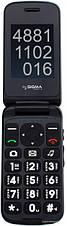 Телефон Sigma Comfort 50 Shell Dual Duo Black  бабушкофон, фото 3