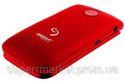 Телефон Sigma Comfort 50 Shell Dual Duo Red  бабушкофон, фото 3