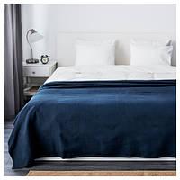 Покрывало IKEA INDIRA 250x230 см темно-синий 103.962.46