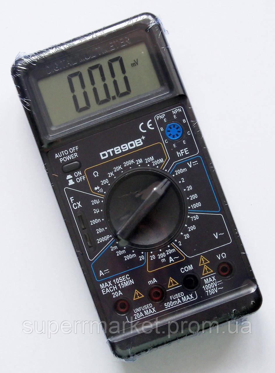 Цифровой мультиметр  DT-890B+