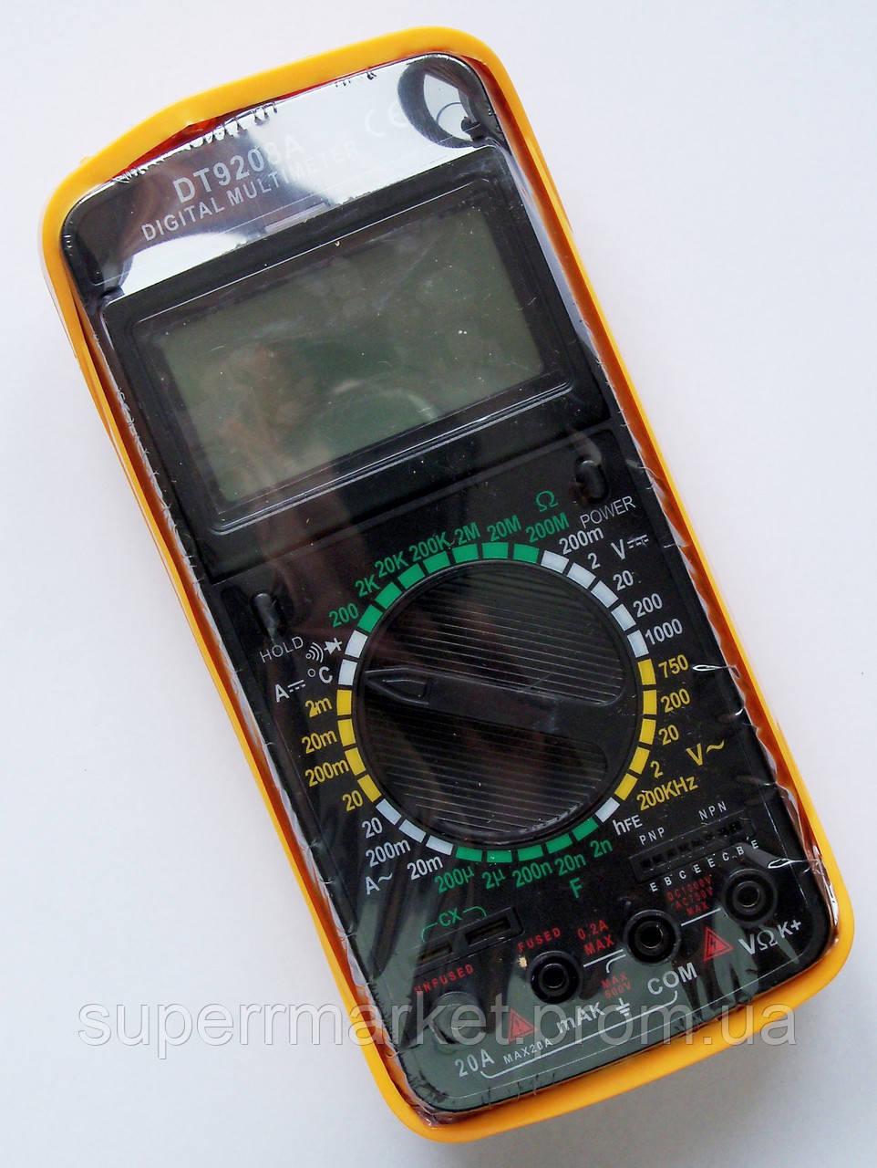 Цифровой мультиметр Тестер DT9208А