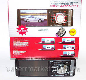 "Pioneer 4012CBR Bluetooth MP5 копия, автомагнитола  с экраном 4"""
