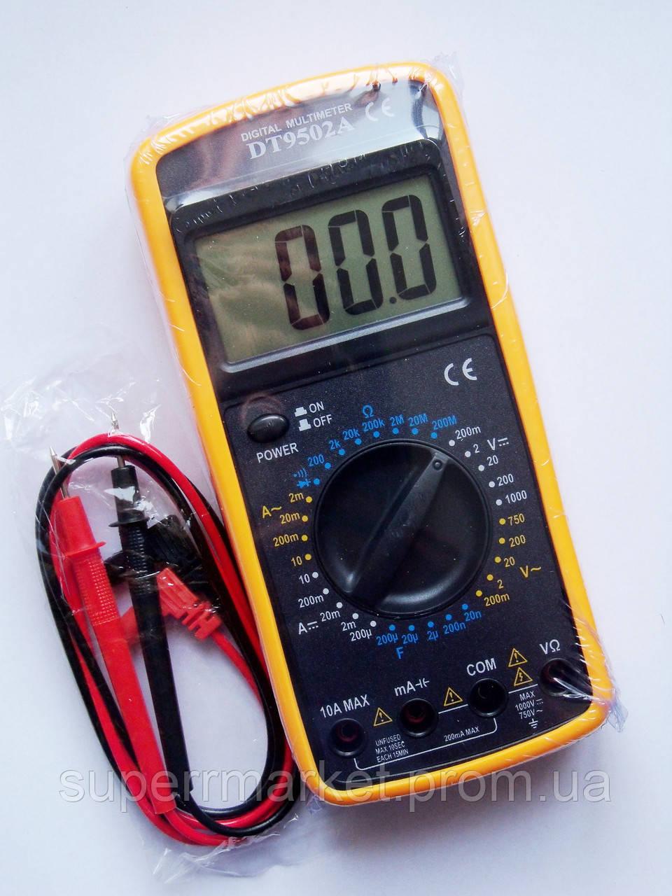 Цифровой мультиметр Тестер DT-9502A