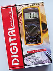Цифровой мультиметр Тестер DT-9208A, фото 3