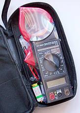Тестер-клещи DT-266F, мультиметр цифровой, фото 2