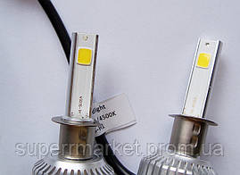 Car Led H1 лампы для автомобиля UKC 33W 4500K 3000LM, фото 3