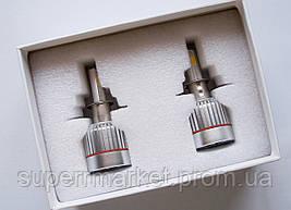 Car Led H3 лампы для автомобиля UKC 33W 4500K 3000LM, фото 2