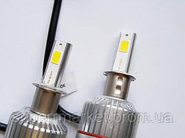 Car Led H3 лампы для автомобиля UKC 33W 4500K 3000LM, фото 3