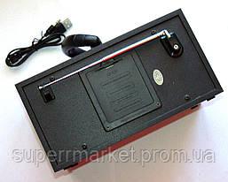 Акустика Atlanfa AT-8972, MP3 SD USB FM , black, фото 3