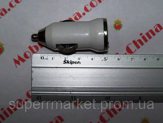 Универсальное зарядное устройство в автомобильный прикуриватель 12-24V под usb, Адаптер 5V*1A usb, vx-01 new, фото 2
