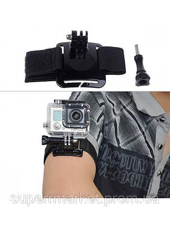 Крепление на руку для экшн-камер SJCAM/ Xiaomi / GoPro '4, фото 2