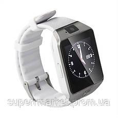 Смарт - часы DZ09 Silver, фото 3