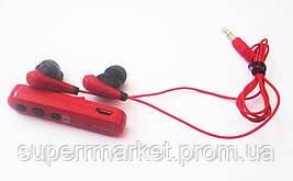 Наушники Sony MDR-EX31BN Bluetooth гарнитура, Red, фото 3