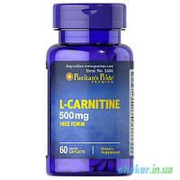 Puritan's Pride L-Carnitine 500 mg (60 таб) л карнитин пуританс прайд