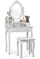 Туалетный столик с зеркалом + табурет новый (Польша) НАЛИЧИЕ