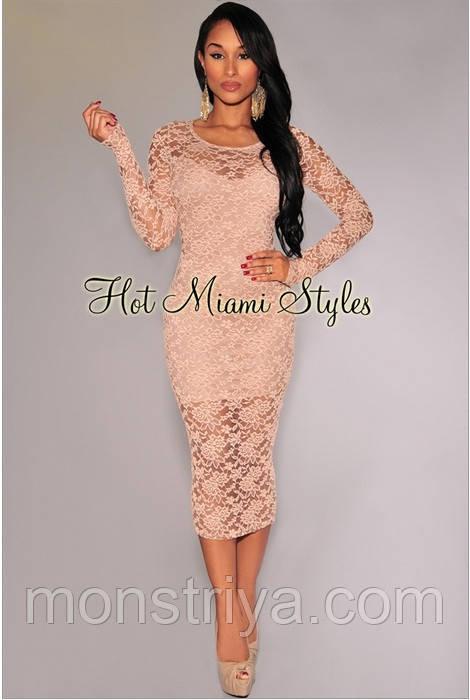 Вечернее платье от Hot Miami Style