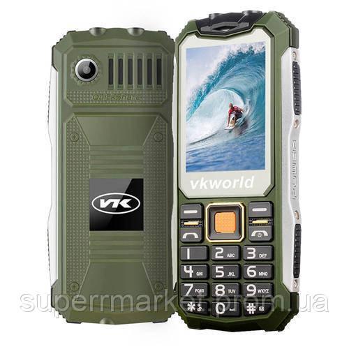 Телефон VKworld Stone V3S Green  защита IP54  '