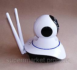 Беспроводная WIFI IP P2P поворотная камера видеоняня dvr X8100-MH36 HD датчик движения IR подсветка, фото 3