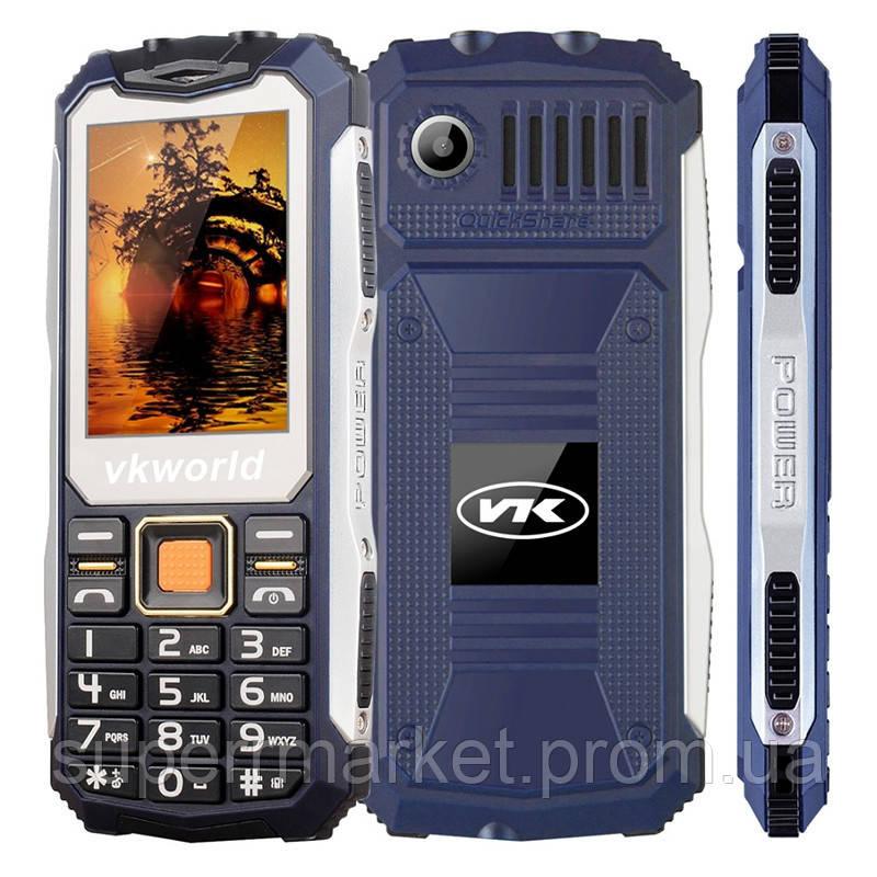 Телефон VKworld Stone V3S Blue  защита IP54  '