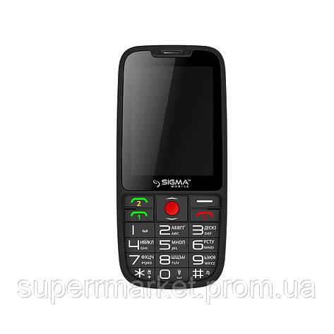 Телефон Sigma Comfort 50 Elegance Black, фото 2