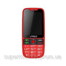 Телефон Sigma Comfort 50 Elegance Black, фото 3