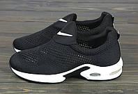 Черные летние кроссовки Lonza HLN503 BLACK 36 23 см, фото 1