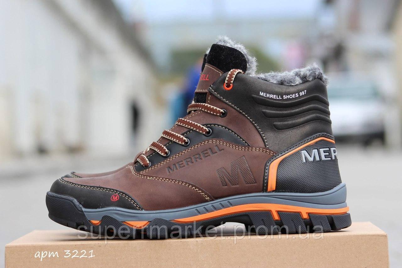 Зимние Ботинки Merrell (коричневые)