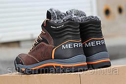 Зимние Ботинки Merrell (коричневые), фото 3