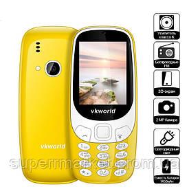 Телефон VKworld Z3310 Yellow  NOKIA 3310  '