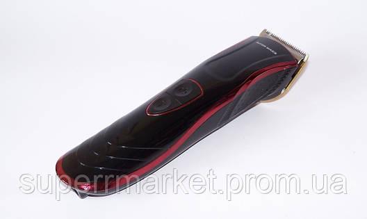 Беспроводная машинка для стрижки волос INTER MAK3 TC3000 с насадками, фото 2