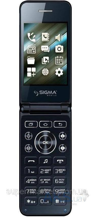 Телефон Sigma X-Style 28 Flip Blue