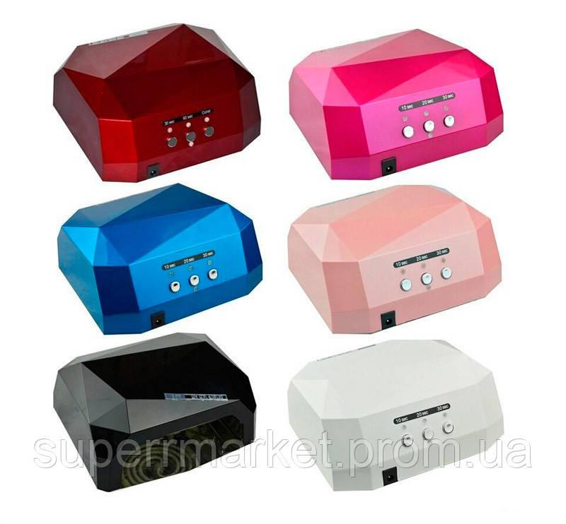 Гибридная Beauty nail UV CCFL+LED лампа 36W для маникюра педикюра  12W CCFL + 24W LED