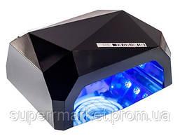 Гибридная Beauty nail UV CCFL+LED лампа 36W для маникюра педикюра  12W CCFL + 24W LED, фото 2
