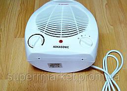 Электрический бытовой напольный тепловентилятор Nokasonic NK-200-А обогреватель, фото 3