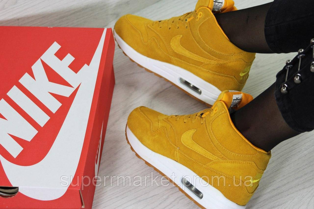 Кроссовки Nike Air Max 87 (рыжие) кроссовки найк nike