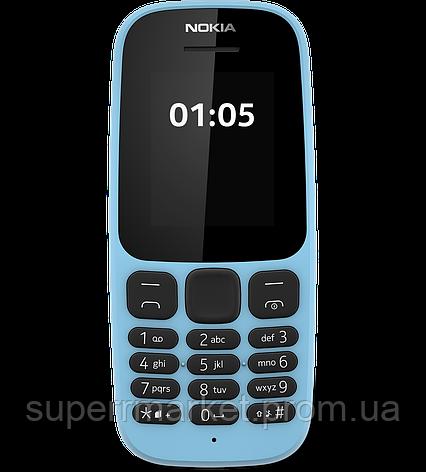 Телефон Nokia 105 NEW dual Blue  '3, фото 2