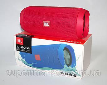 JBL Charge K3+ 15W копия, портативная колонка с Bluetooth FM MP3, красная