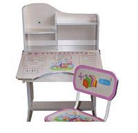 Регулируемая детская парта растишка со стульчиком Bambi HB-F2071-02