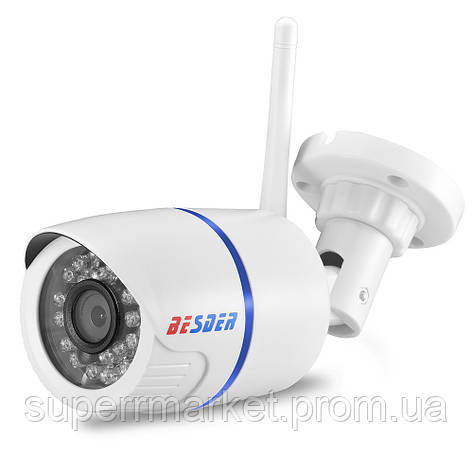 BESDER 720P Wi-Fi DVR Yoosee IP ONVIF P2P CCTV беспроводная уличная камера с регистратором, фото 2