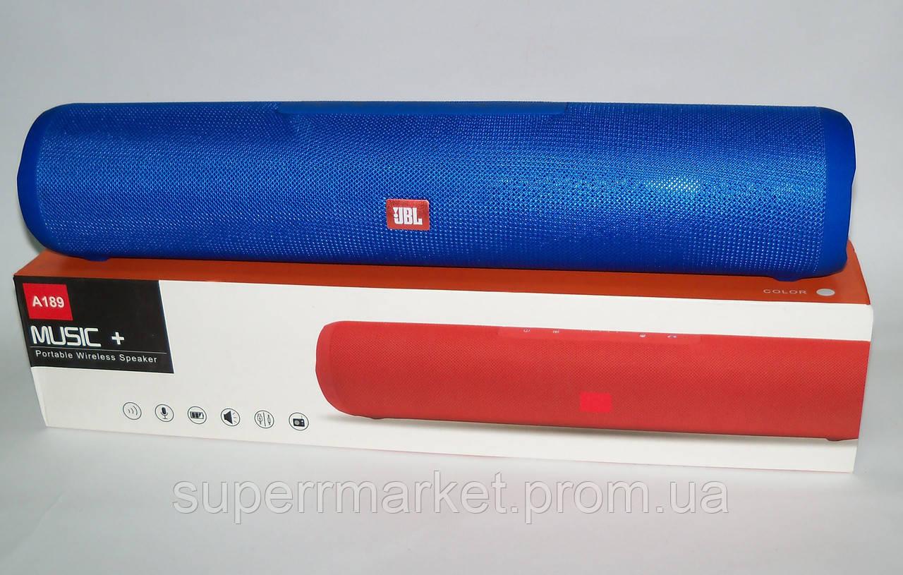 JBL Charge max A189 music+ 10W копия, блютуз колонка, blue