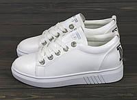 Белые кеды Lonza HLN3018 WHITE 36 23 см, фото 1